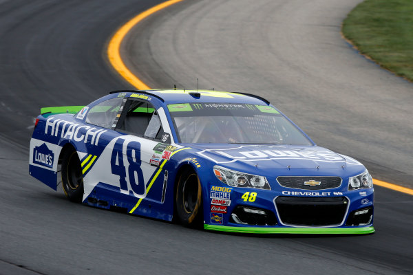 Monster Energy NASCAR Cup Series ISM Connect 300 New Hampshire Motor Speedway Loudon, NH USA Friday 22 September 2017 Jimmie Johnson, Hendrick Motorsports, Lowe's Chevrolet SS World Copyright: Lesley Ann Miller LAT Images