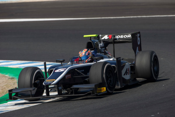 2017 FIA Formula 2 Round 10. Circuito de Jerez, Jerez, Spain. Sunday 8 October 2017. Artem Markelov (RUS, RUSSIAN TIME).  Photo: Andrew Ferraro/FIA Formula 2. ref: Digital Image _FER3601