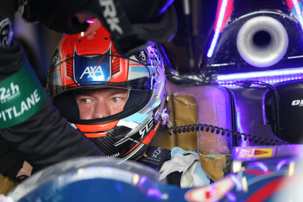 2016 World Endurance Championship,  Le Mans 24 Hours, France, 13th June 2016. Frederic Sausset SRT41 by OAK Racing Morgan LMP2 - Nissan. Word copyright: Jakob Ebrey/LAT Photographic
