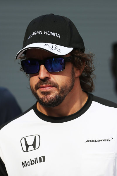 Autodromo Nazionale di Monza, Monza, Italy. Friday 4 September 2015. Fernando Alonso, McLaren. World Copyright: Jed Leicester/LAT Photographic ref: Digital Image JL1_8161