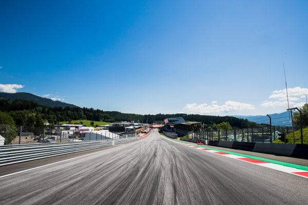 2017 GP3 Series Round 2.  Red Bull Ring, Spielberg, Austria. Thursday 6 July 2017. A view of the track. Photo: Zak Mauger/GP3 Series Media Service. ref: Digital Image _56I9991