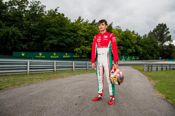 2017 FIA Formula 2 Round 7. Hungaroring, Budapest, Hungary. Thursday 27 July 2017. Charles Leclerc (MCO, PREMA Racing).  Photo: Zak Mauger/FIA Formula 2. ref: Digital Image _56I0184