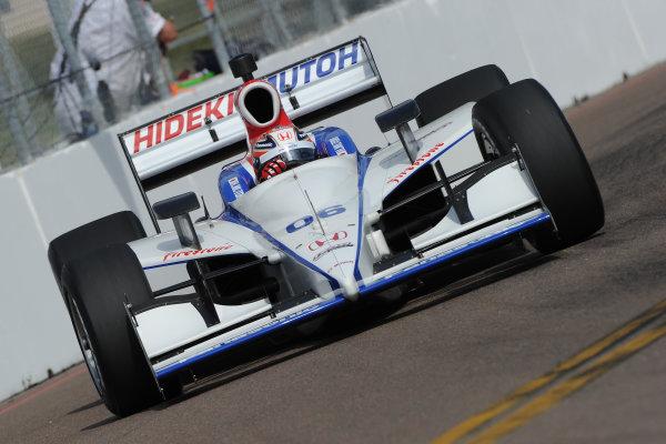 26-28 March 2010, St petersburg, Florida USA#06 Newman Haas Lanigan Racing's Hideki Mutoh.©Dan R. Boyd LAT Photographic USA