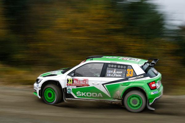2016 FIA World Rally Championship, Round 13, Wales Rally GB 2016 October 27 - 30, 2016 Esapekka Lappi, Skoda, winner WRC-2  Worldwide Copyright: McKlein/LAT