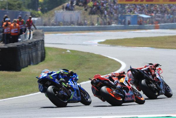 Jorge Lorenzo, Ducati Team, Marc Marquez, Repsol Honda Team, Alex Rins, Team Suzuki MotoGP.