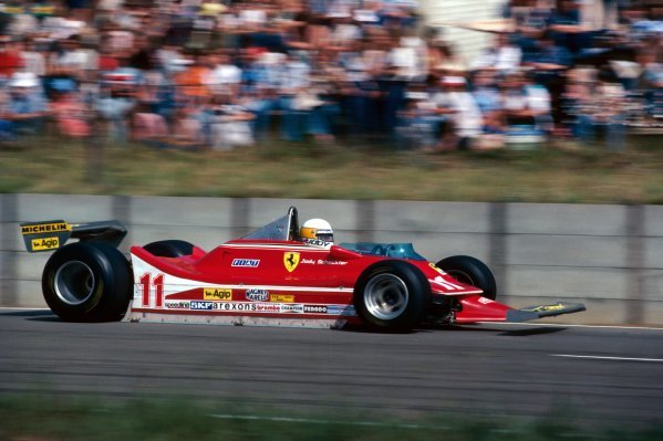 Jody Scheckter (RSA) Ferrari 312T4 finished the race in second position.