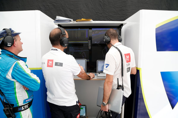 Buenos Aires e-Prix Race. Trulli Garage. FIA Formula E World Championship. Buenos Aires, Argentina, South America. Saturday 10 January 2015.  Copyright: Adam Warner / LAT / FE ref: Digital Image _L5R7148