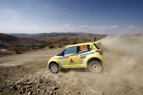 2008 FIA World Rally ChampionshipRound 03Rally Mexico28 February-2 March 2008Jaan Molder, Suzuki JWRC, Action.Worldwide Copyright: McKlein/LAT