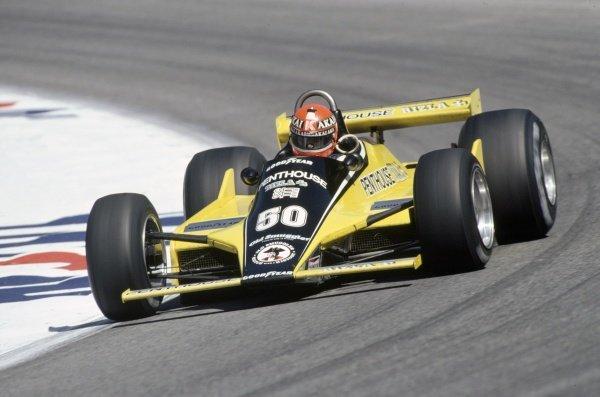 1980 Austrian Grand Prix.Osterreichring, Zeltweg, Austria. 15-17 August 1980.Rupert Keegan (Williams FW07B-Ford Cosworth), 15th position.World Copyright: LAT PhotographicRef: 35mm transparency 80AUT02