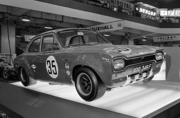 Alan Mann racing Group 5 Ford Escort.
