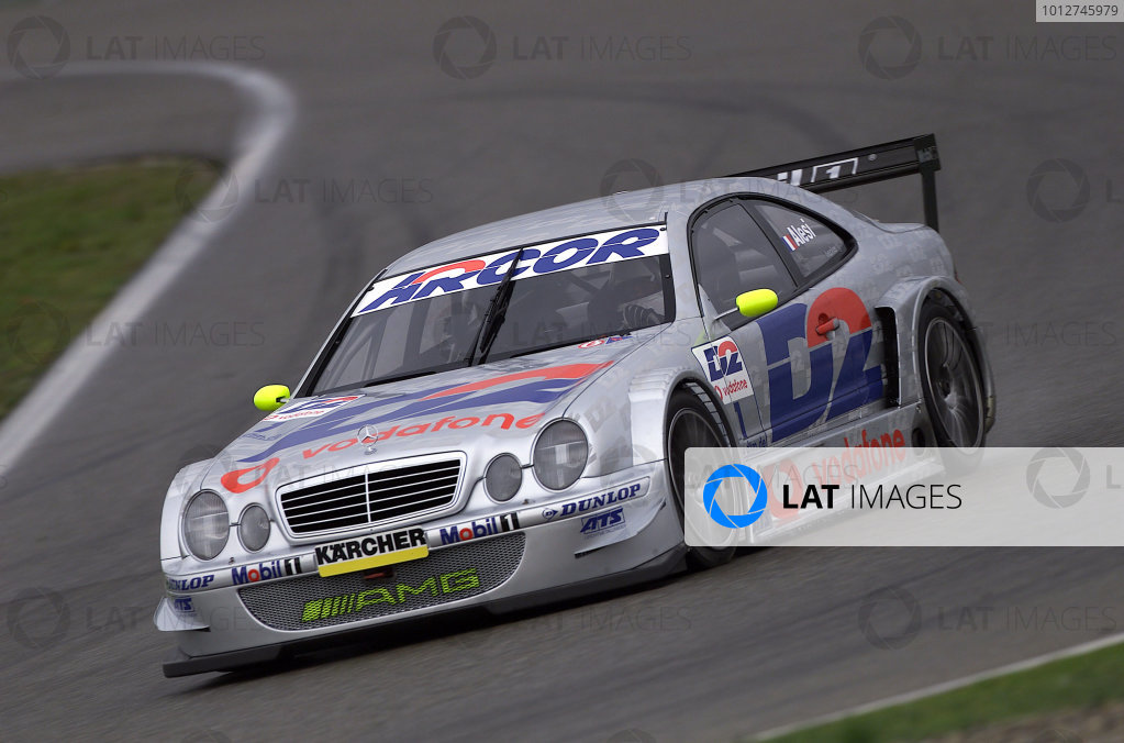 2001 DTM Testing