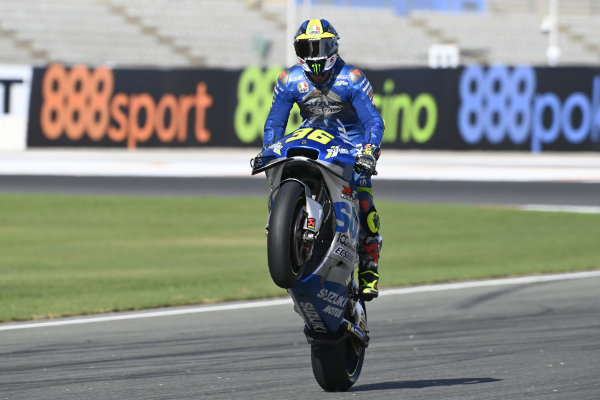 Race winner Joan Mir, Team Suzuki MotoGP.