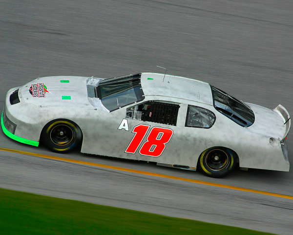 2003 NASCAR TestingDaytona, USA. 9th January 2003 Bobby Labonte, Chevrolet, Joe Gibbs Racing, action.World Copyright: Greg Aleck/ LAT Photographic ref: Digital Image Only