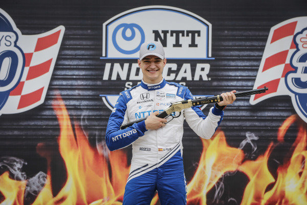 #10: Alex Palou, Chip Ganassi Racing Honda,  Pole Award