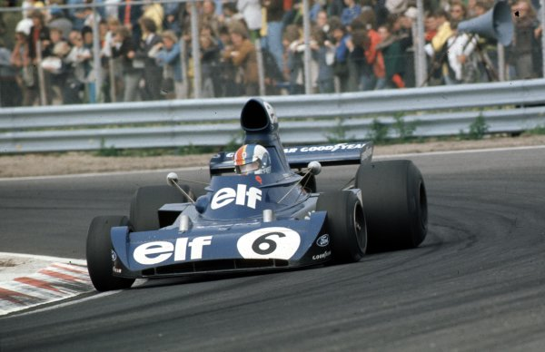 1973 Dutch Grand Prix.Zandvoort, Holland.27-29 July 1973.Francois Cevert (Tyrrell 006 Ford) 2nd position.Ref-73 HOL 04.World Copyright - LAT Photographic