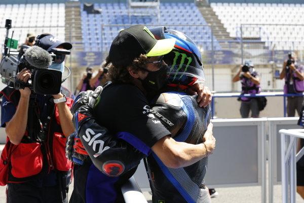 Valentino Rossi and Marco Bezzecchi, Sky Racing Team VR46.