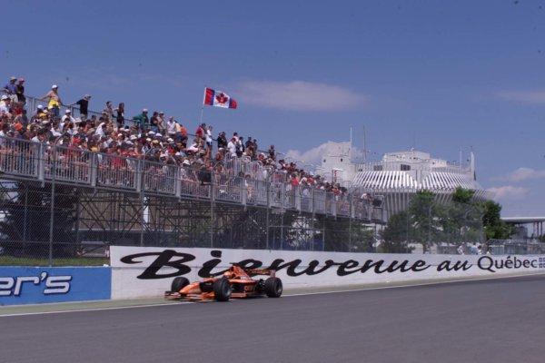 2000 Canadian Grand Prix.Montreal, Quebec, Canada.16-18 June 2000.Jos Verstappen (Arrows A21 Supertec) 5th position.World Copyright - LAT Photographic