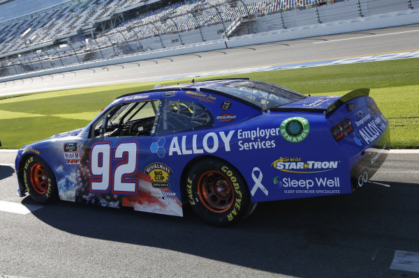 #92: Josh Williams, DGM Racing, Chevrolet Camaro Alloy Employer Services/General Formulations