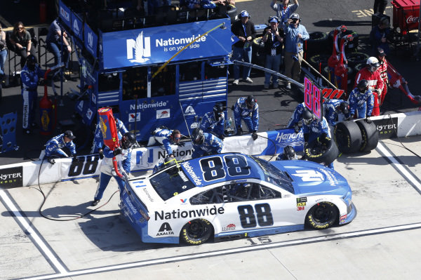 #88: Alex Bowman, Hendrick Motorsports, Chevrolet Camaro Nationwide