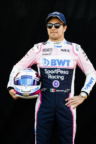 Official Portrait of Sergio Perez, Racing Point
