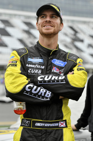 #98: Grant Enfinger, ThorSport Racing, Ford F-150 Champion/ Curb Records