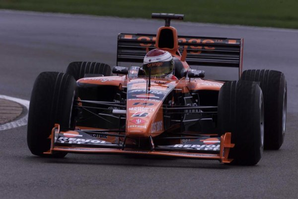 2000 British Grand Prix.Silverstone, England. 21-23 April 2000.Jos Verstappen (Arrows A21 Supertec).World Copyright - LAT Photographic