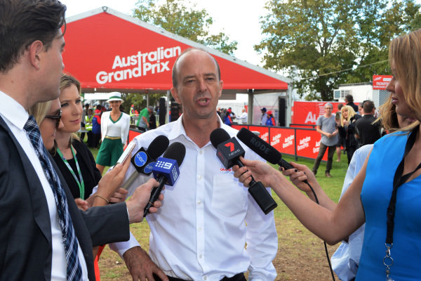 Andrew Westacott (AUS) Australian GP CEO at Formula One World Championship, Rd1, Australian Grand Prix, Preparations, Albert Park, Melbourne, Australia, Thursday 23 March 2017.