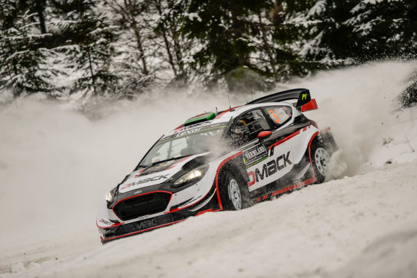 2017 FIA World Rally Championship, Round 02, Rally Sweden, February 09-12, 2017, Elfyn Evans, Ford, Action Worldwide Copyright: McKlein/LAT