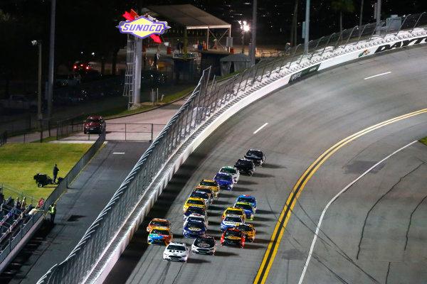 2017 NASCAR Monster Energy Cup - Can-Am Duels Daytona International Speedway, Daytona Beach, FL USA Thursday 23 February 2017 Brad Keselowski and Kevin Harvick World Copyright: Russell LaBounty/LAT Images ref: Digital Image 17DAY2rl_01629