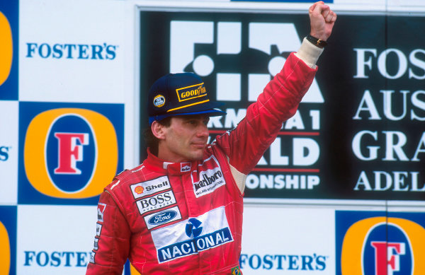 25 years ago Ayrton Senna took the final Grand Prix victory of his career