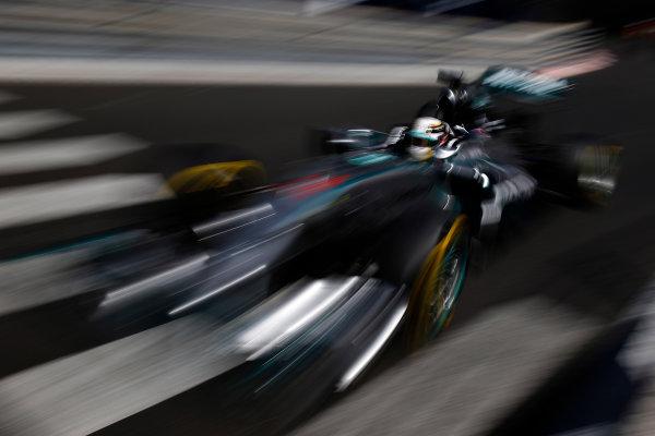 Monte Carlo, Monaco. Saturday 24 May 2014. Lewis Hamilton, Mercedes F1 W05 Hybrid. World Copyright: Glenn Dunbar/LAT Photographic. ref: Digital Image _W2Q0763
