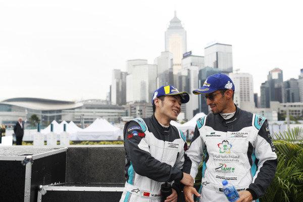 PRO AM class winner Yaqi Zhang (CHI), Team China with Bandar Alesayi (SAU), Saudi Racing, 2nd position