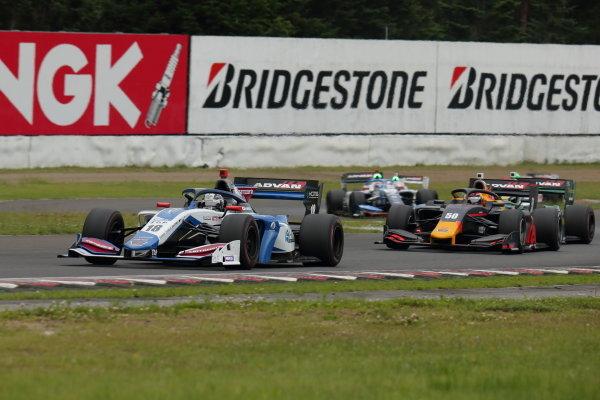 Kamui Kobayashi, Carrozzeria Team KCMG, Dallara SF19 Toyota, 2nd
