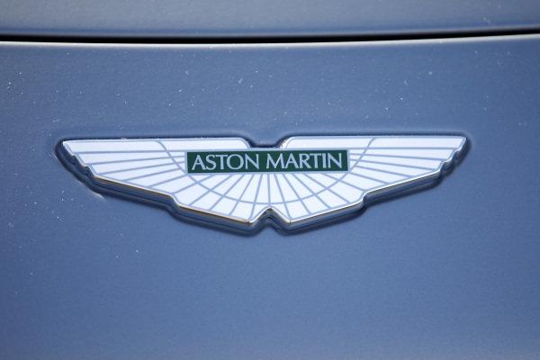 Aston Martin logo.