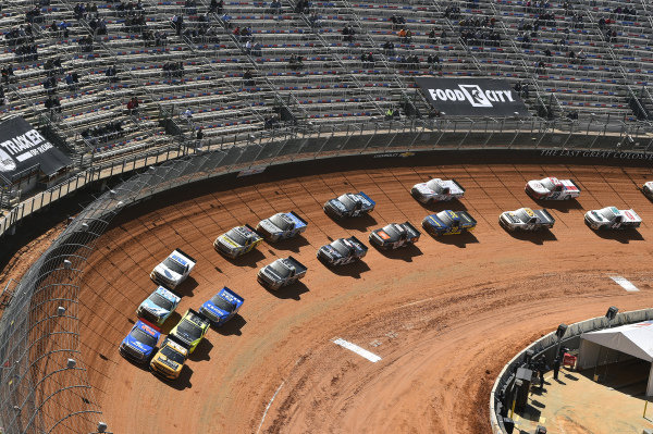 #2: Sheldon Creed, GMS Racing, Chevrolet Silverado Chevy Accessories, #52: Stewart Friesen, Halmar Friesen Racing, Toyota Tundra Halmar International