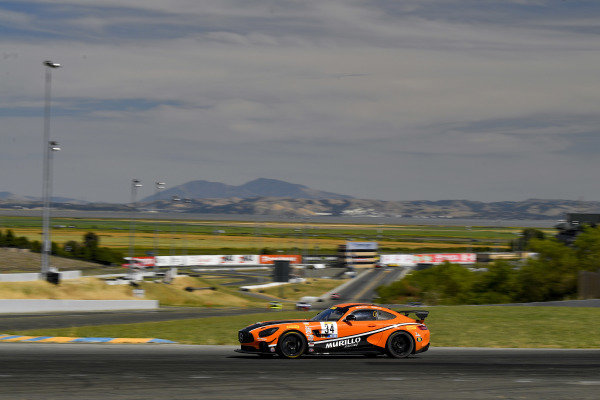 #34 Mercedes-AMG GT4 of Kenny Murillo and Christian Szymczak
