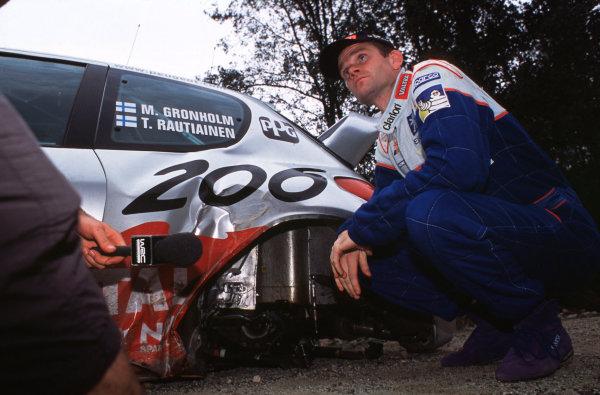 2001 FIA World Rally ChampsRallye de France, Ajaccio, Corsica, 18th-21st October 2001.Marcus Gronholm.World Copyright: LAT Photographic/McKlein.ref: 35mm Image A17