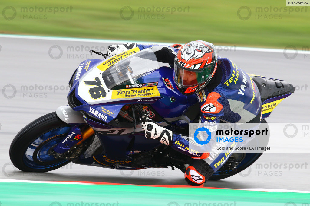Loris Baz, Ten Kate Racing Yamaha.