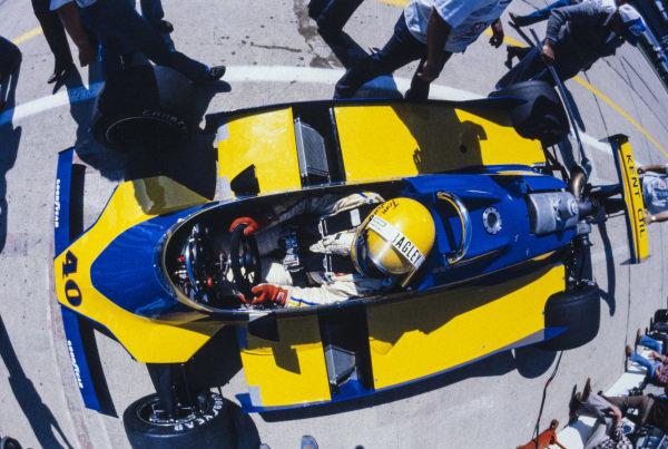 Tom Bagley, Wildcat Mk4 Offenhauser.