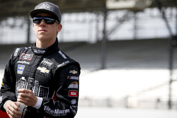 #23: John Hunter Nemechek, GMS Racing, Chevrolet Camaro Fire Alarm Services, Inc.