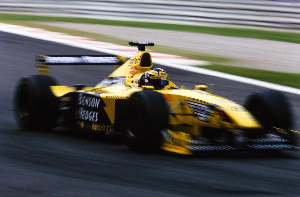 Heinz-Harald Frentzen, Jordan 199 Mugen-Honda.