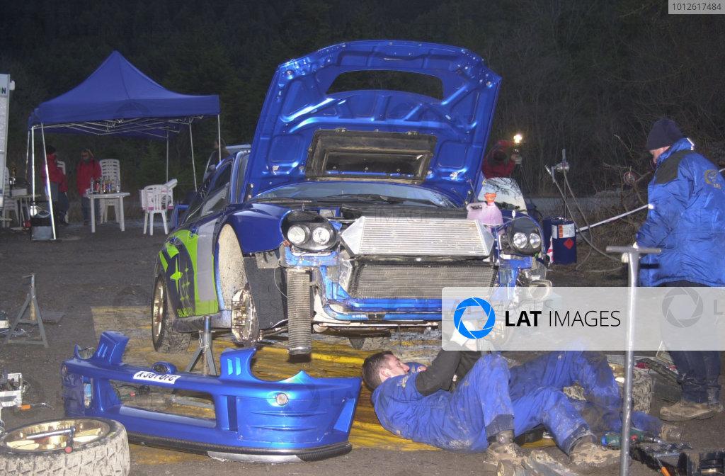 2001 WRC Testing.