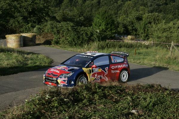 Round 10Rally Deutschland, Germany 200814th-17th August 2008Sebastien Loeb, Citroen, actionWorldwide Copyright: McKlein/LAT