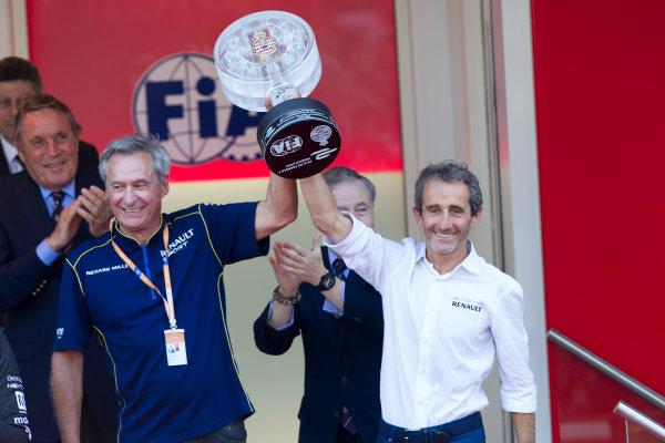 2014/2015 FIA Formula E Championship. Alain Prost. Monaco ePrix Race. Monaco ePrix, Monte Carlo, Monaco, Europe. Saturday 9 May 2015  Photo: Adam Warner/LAT/Formula E ref: Digital Image _A8C7017