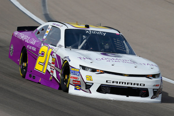 2017 NASCAR Xfinity Series - Boyd Gaming 300 Las Vegas Motor Speedway - Las Vegas, NV USA Friday 10 March 2017 Daniel Hemric World Copyright: Russell LaBounty/LAT Images ref: Digital Image 17LAS1rl_0832