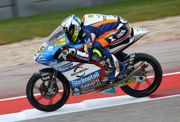 2017 Moto3 Championship - Round 3 Circuit of the Americas, Austin, Texas, USA Saturday 22 April 2017 Philipp Ottl, Schedl GP Racing World Copyright: Gold and Goose Photography/LAT Images ref: Digital Image Moto3-Q-500-2255