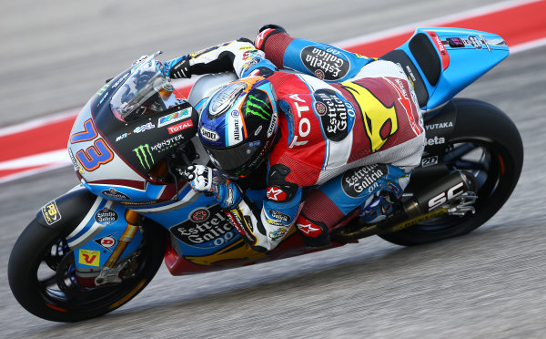 2017 Moto2 Championship - Round 3 Circuit of the Americas, Austin, Texas, USA Friday 21 April 2017 Alex Marquez, Marc VDS World Copyright: Gold and Goose Photography/LAT Images ref: Digital Image Moto2-500-2153