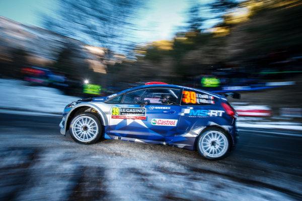 2017 FIA World Rally Championship,  Round 01, Rally Monte Carlo,  January 18-22, 2017,  Eric Camilli/Benjamin Veillas (Ford Fiesta R5) Worldwide Copyright: McKlein/LAT
