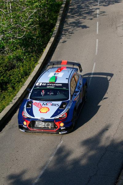 2017 FIA World Rally Championship, Round 04, Rallye de France, Tour de Corse, April 06-09, 2017, Haydon Paddon, Hyundai, action Worldwide Copyright: McKlein/LAT
