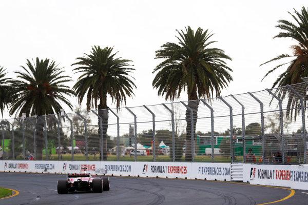 Albert Park, Melbourne, Australia. Saturday 25 March 2017. Sebastian Vettel, Ferrari SF70H. World Copyright: Steven Tee/LAT Images ref: Digital Image _O3I2170